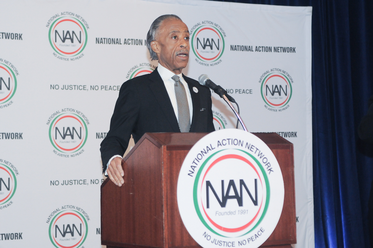 WASHINGTON, DC - JANUARY 15: National Action Networks MLK Day Breakfast at the Mayflower Hotel on Monday, January 15, 2018, in Washington, DC, USA. (Photo by: Tim Rogers / RedCarpetImages.net)
