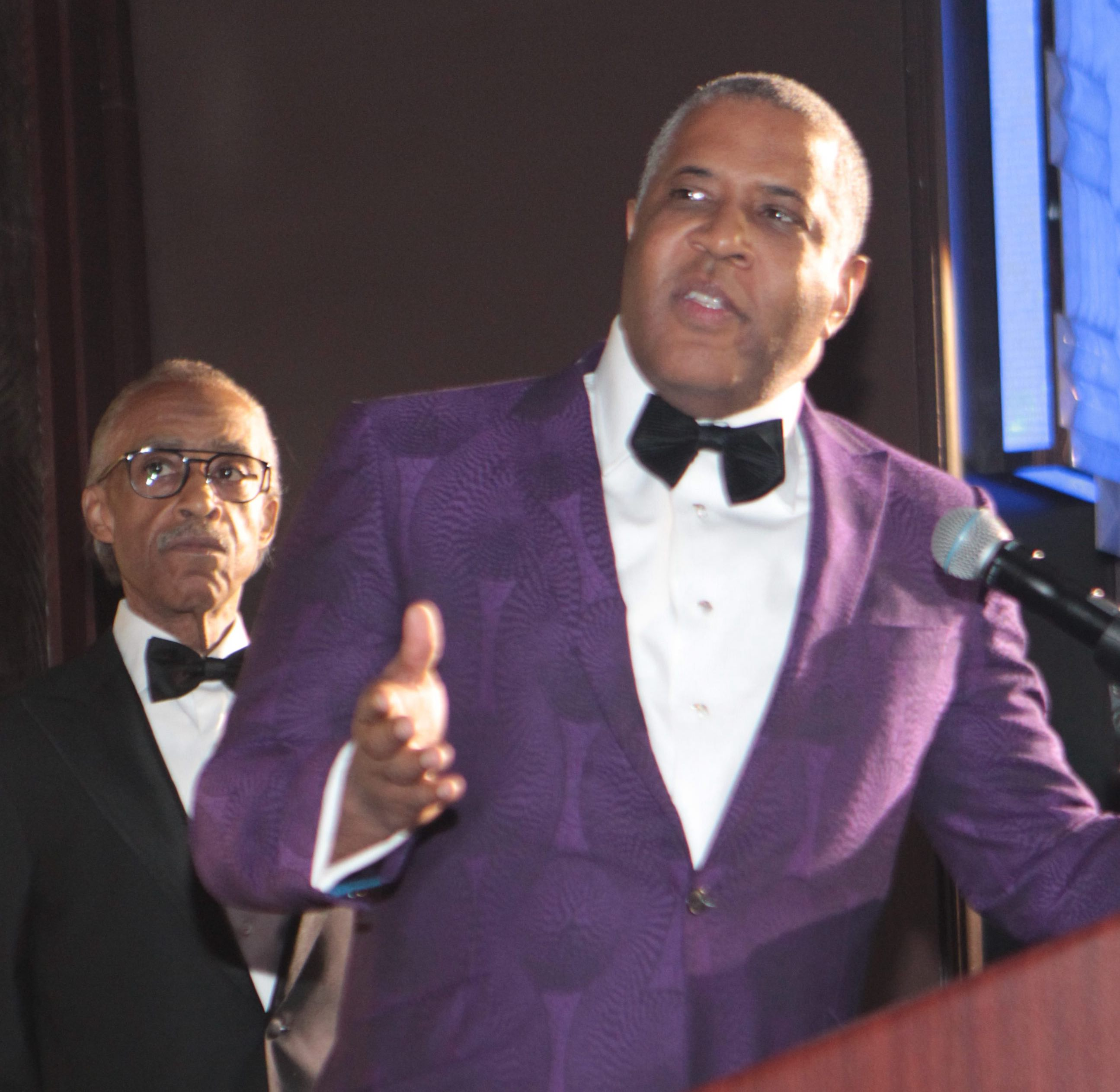 Robert F. Smith at the 2018 National Action Network Annual Convention